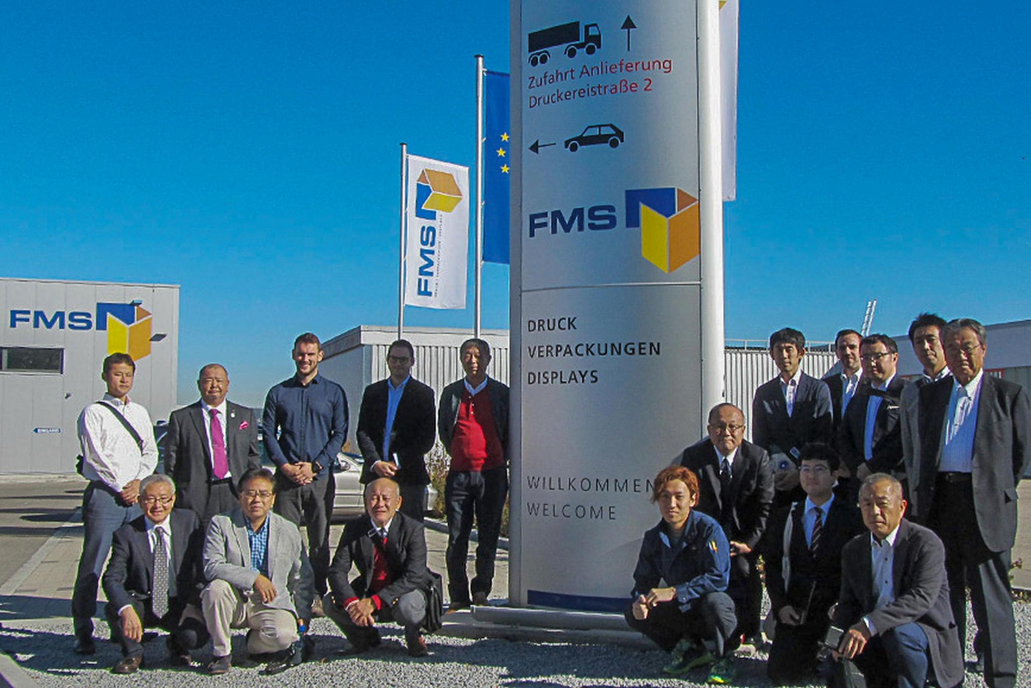 YUUKOHSHA CITO TRADING CO., LTD. Und Dessen Kunden Aus Japan Zu Besuch Bei FMS