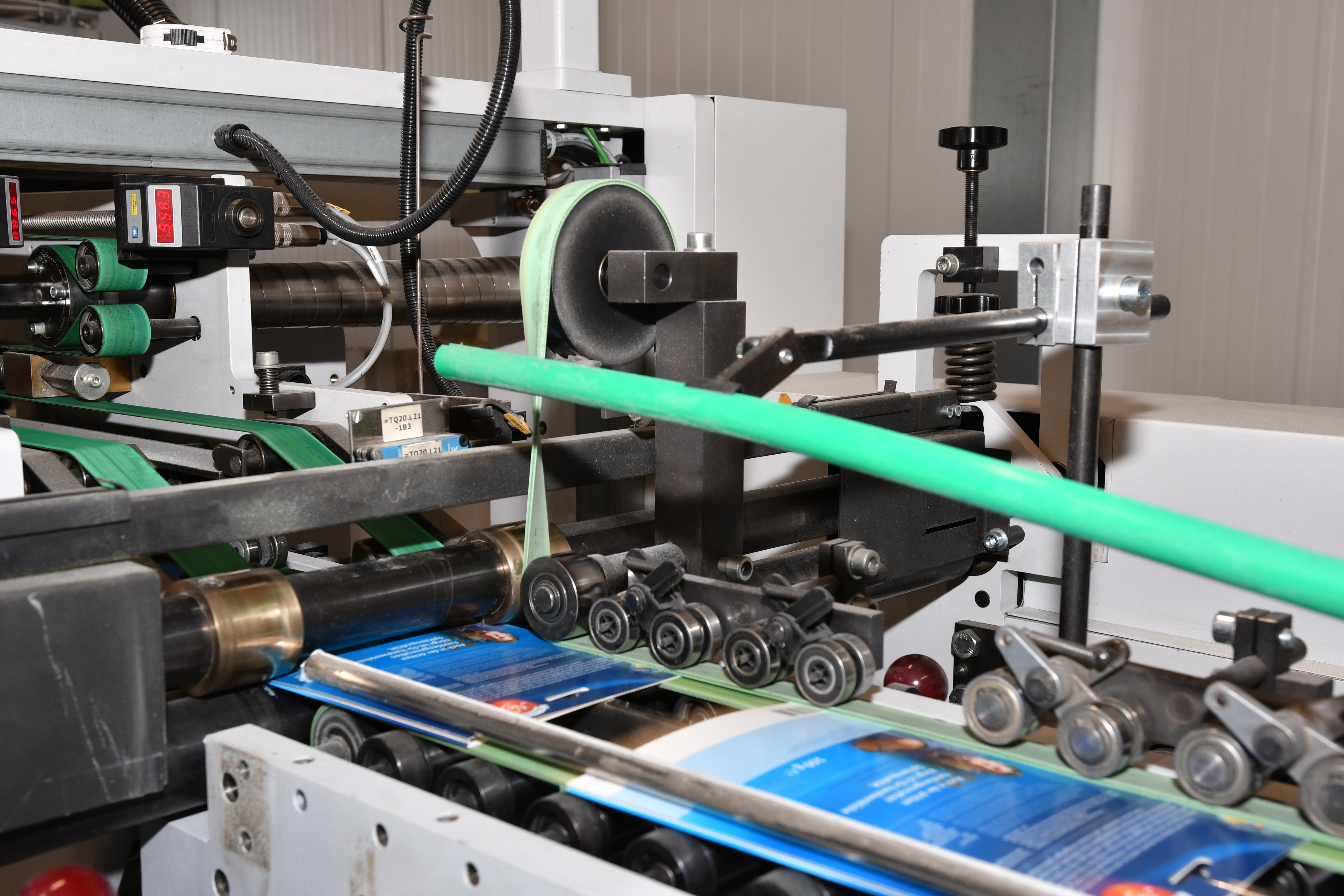 Maschinen/Anlagenführer An Faltschachtelklebemaschinen (m/w/d)